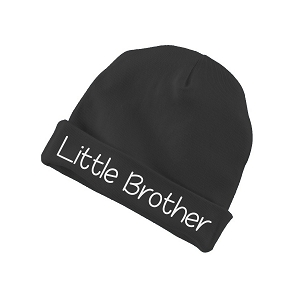 Little Brother Funny Baby Beanie Cotton Cap Hat