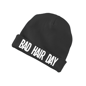 Bad Hair Day Funny Baby Beanie Cotton Cap Hat