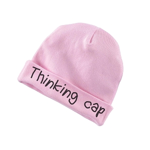 Thinking Cap Funny Baby Beanie Cotton Cap Hat