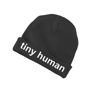 Tiny Human Funny Baby Beanie Cotton Cap Hat