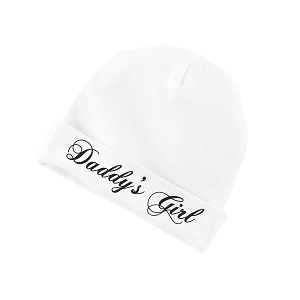 Daddy's Girl Funny Baby Beanie Cotton Cap Hat