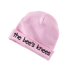 The Bee's Knees Funny Baby Beanie Cotton Cap Hat