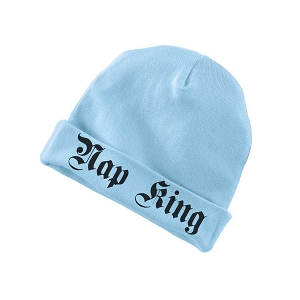 Nap King Funny Baby Beanie Cotton Cap Hat