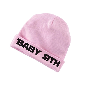 Baby Sith Star Parody Funny Baby Beanie Cotton Cap Hat
