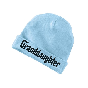 Granddaughter Parody Funny Baby Beanie Cotton Cap Hat
