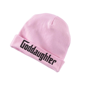 Goddaughter Parody Funny Baby Beanie Cotton Cap Hat