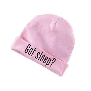 Got Sleep? Parody Funny Baby Beanie Cotton Cap Hat