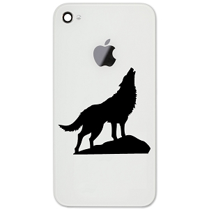 Howling Wolf Silhouette 2
