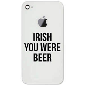 Funny Irish You Were Beer Here Parody 2