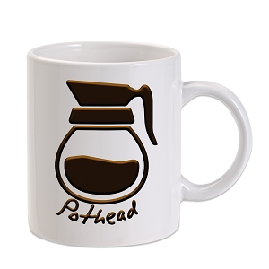 Pot Head Parody 11 oz. Novelty Coffee Mug