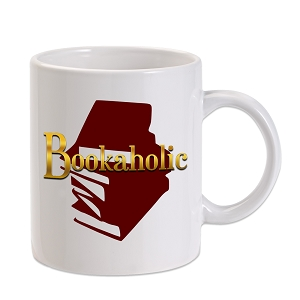 Bookaholic 11 oz. Novelty Coffee Mug