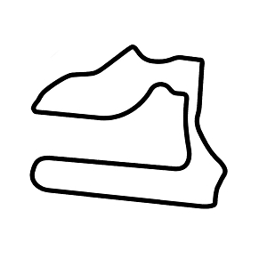 Sebring Raceway Track Map JDM Vinyl Sticker Car Decal