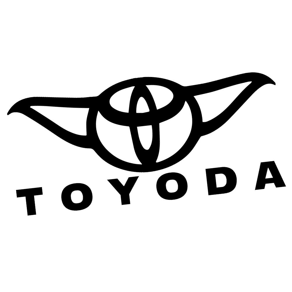 Jdm Toyoda Parody Funny Vinyl Sticker Car Decal