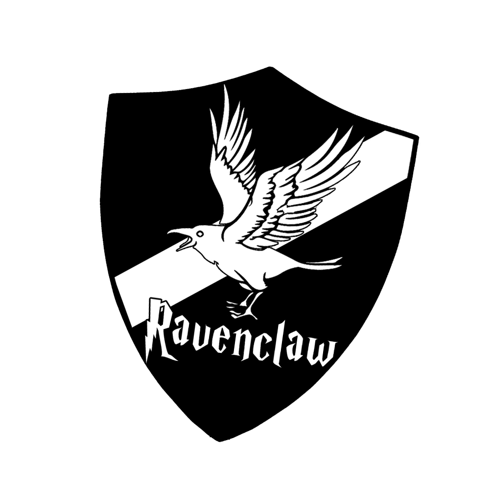 Hp Ravenclaw House Raven Shield Vinyl Sticker Car Decal