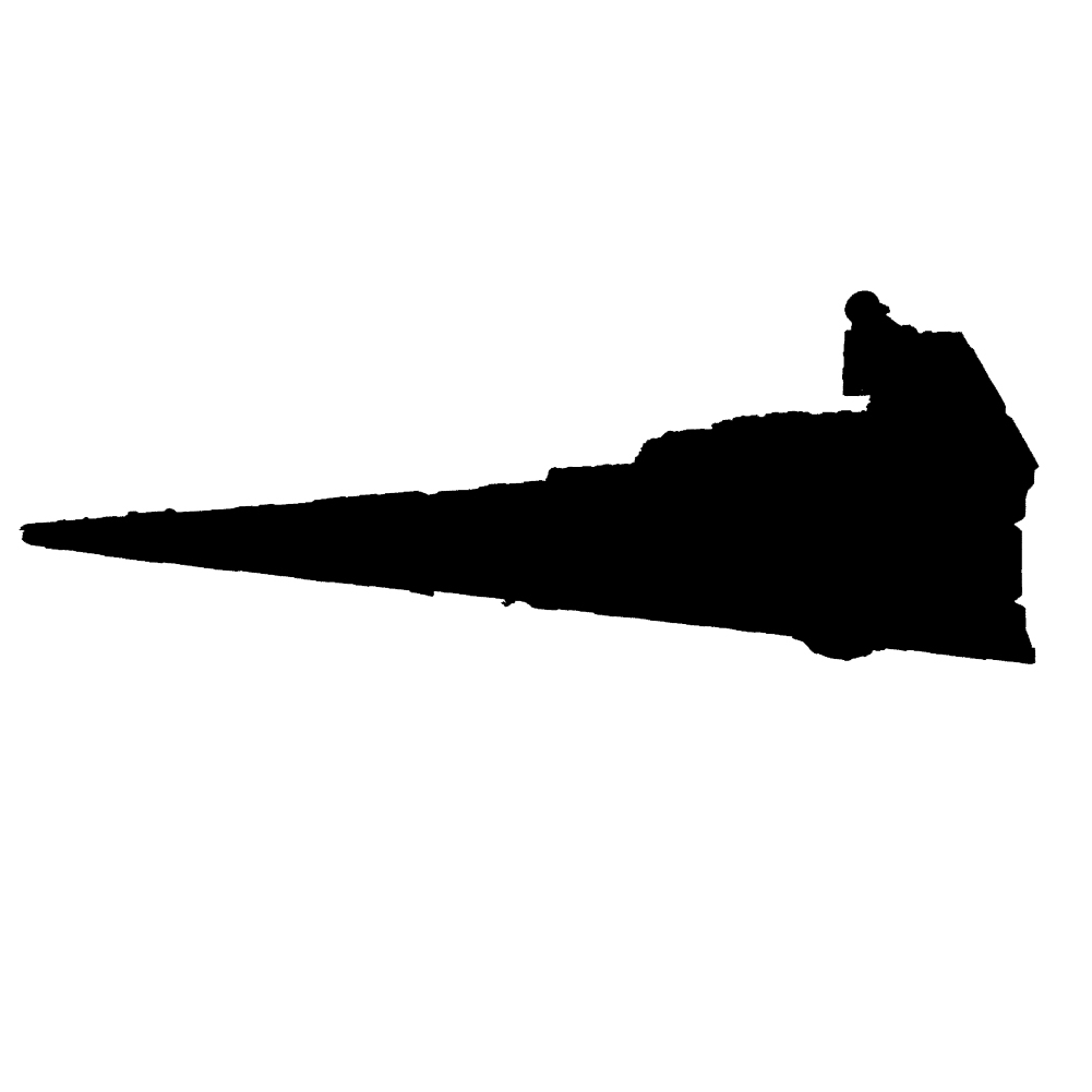 6b39d5701bf Galactic Empire Imperial Class Star Destroyer Vinyl Sticker Car Decal