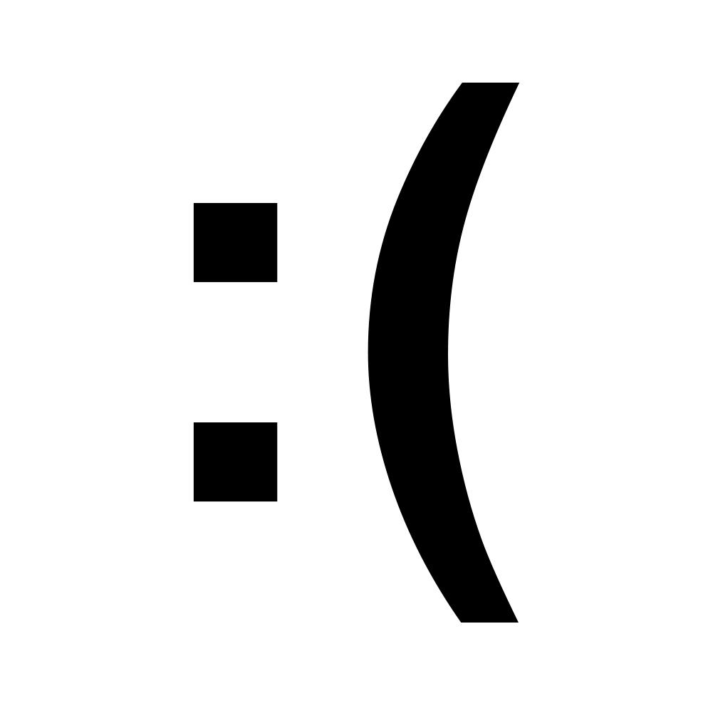 Sad face emoji emoticon symbol vinyl sticker car decal sad face emoji emoticon symbol vinyl sticker car decal black decal buycottarizona Gallery