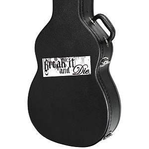 Break It And Die Guitar Instrument Case Sticker  - 5