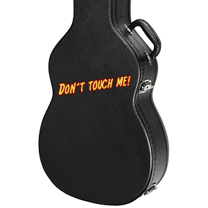 Don't Touch Me Guitar Instrument Case Sticker  - 5
