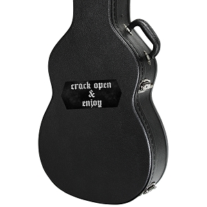 Crack Open and Enjoy Guitar Instrument Case Sticker  - 4.5