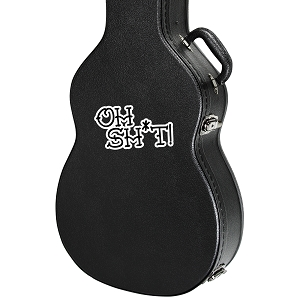 Oh Sh*t Guitar Instrument Case Sticker  - 4