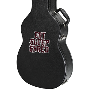 Eat Sleep Shred Guitar Instrument Case Sticker  - 4
