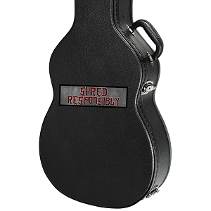 Shred Responsibly Guitar Instrument Case Sticker  - 5