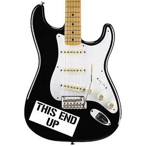 This End Up Guitar Instrument Pickguard Sticker  - 5