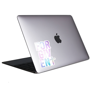 Forgiven Tablet & Laptop Sticker