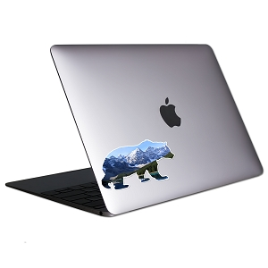 Bear Mountains Tablet & Laptop Sticker