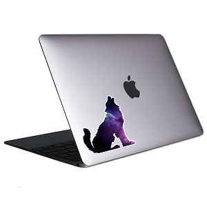 Wolf Galaxy Tablet & Laptop Sticker