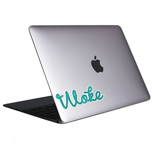 Woke Tablet & Laptop Sticker