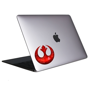 Red Rebel Symbol Tablet & Laptop Sticker