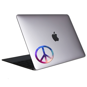 Peace Galaxy Tablet & Laptop Sticker