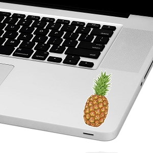 Pineapple Laptop Trackpad Sticker 3