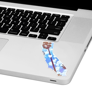 California Love Laptop Trackpad Sticker 4