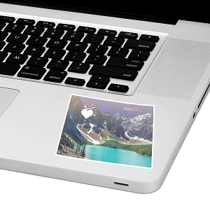 Colorado Love Laptop Trackpad Sticker 3