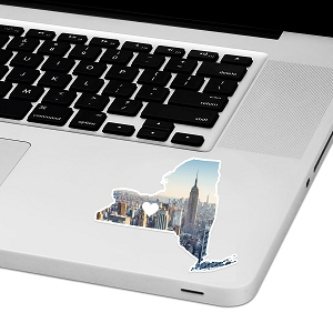 New York Love Laptop Trackpad Sticker 3