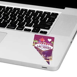 Nevada Love Laptop Trackpad Sticker 3