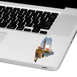 Maine Love Laptop Trackpad Sticker 2.5