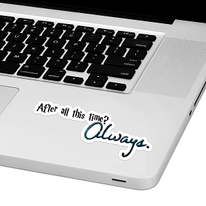 After All This Time Laptop Trackpad Sticker 4