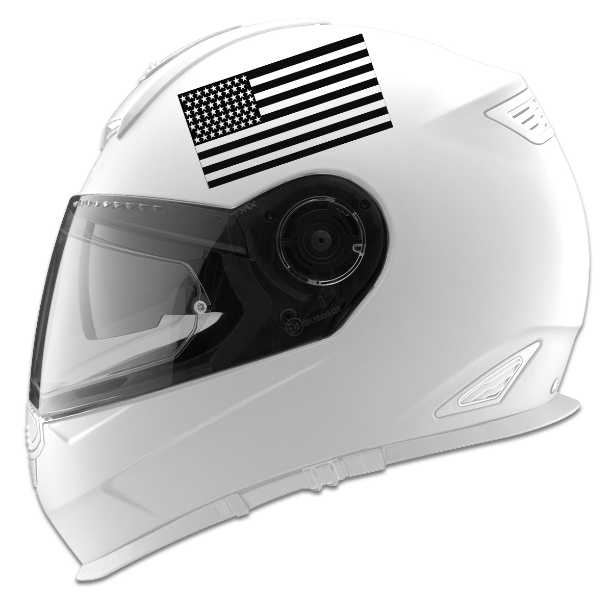 USA American Flag Auto Car Racing Motorcycle Helmet Decal - Pink motorcycle helmet decalscustom vinyl decals part