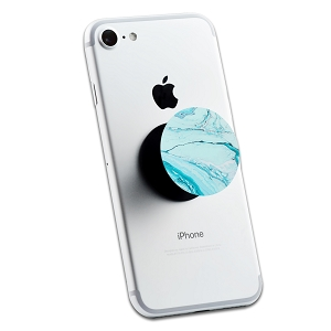 Blue Marble 2 Sticker Set for Pop Grip Stent for Phones and Tablets (Stickers Only)