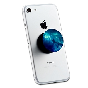 Blue Space Galaxy 2 Sticker Set for Pop Grip Stent for Phones and Tablets (Stickers Only)