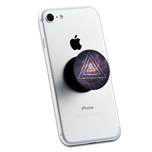 Galaxy Triangles 2 Sticker Set for Pop Grip Stent for Phones and Tablets (Stickers Only)