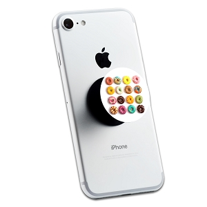 Variety of Donuts 2 Sticker Set for Pop Grip Stent for Phones and Tablets (Stickers Only)