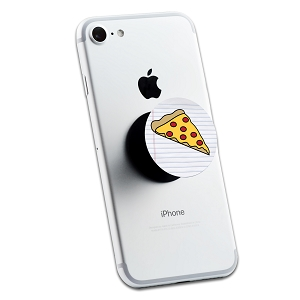 Pizza Slice 2 Sticker Set for Pop Grip Stent for Phones and Tablets (Stickers Only)