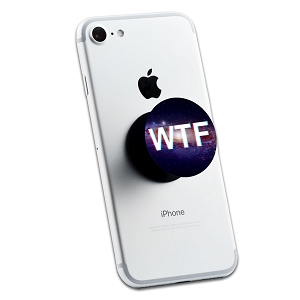 WTF Space 2 Sticker Set for Pop Grip Stent for Phones and Tablets (Stickers Only)