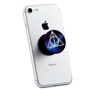 Deathly Symbol Hallows Triangle 2 Sticker Set for Pop Grip Stent for Phones and Tablets (Stickers Only)