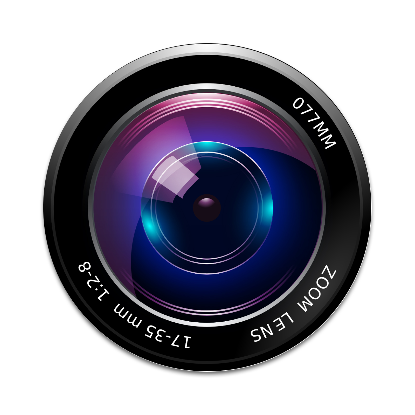 Camera Lens 2 Sticker Set for Pop Grip Stent for Phones ...