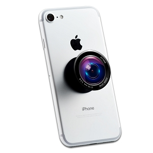 Camera Lens 2 Sticker Set for Pop Grip Stent for Phones and Tablets (Stickers Only)